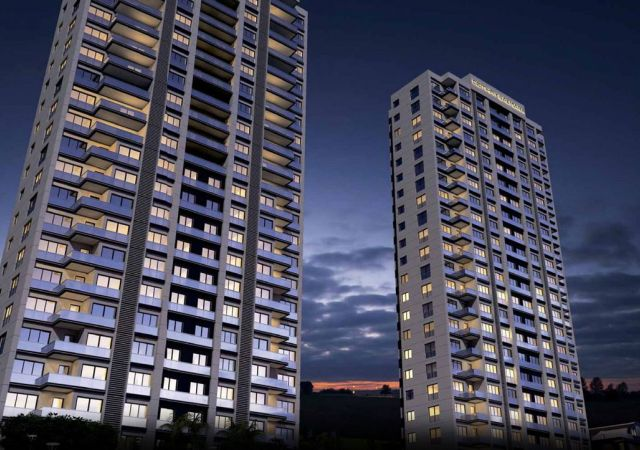 Apartments for sale in Turkey - Istanbul - the complex DS353 || damasturk Real Estate Company 01