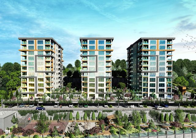 Damas Project D-410 in Trabzon - Exterior picture  01