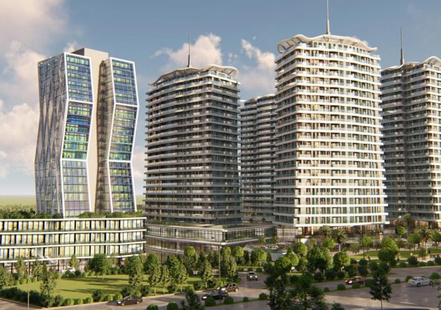 Apartments for sale in Turkey - the complex DS322 || damasturk Real Estate Company 01