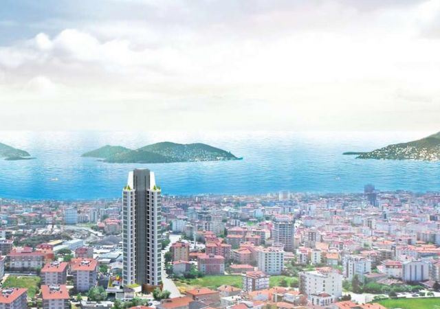 Apartments for sale in Turkey - Istanbul - the complex DS347 || damasturk Real Estate Company 01