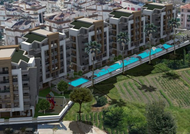 Apartments for sale in Antalya Turkey - complex DN029 || damasturk Real Estate Company 01