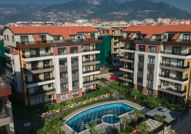 Apartments for sale in Antalya Turkey - complex DN048  || damasturk Real Estate Company 01