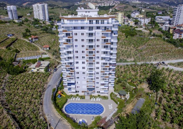 Apartments for sale in Antalya - Turkey - Complex DN058  || damasturk Real Estate Company 01