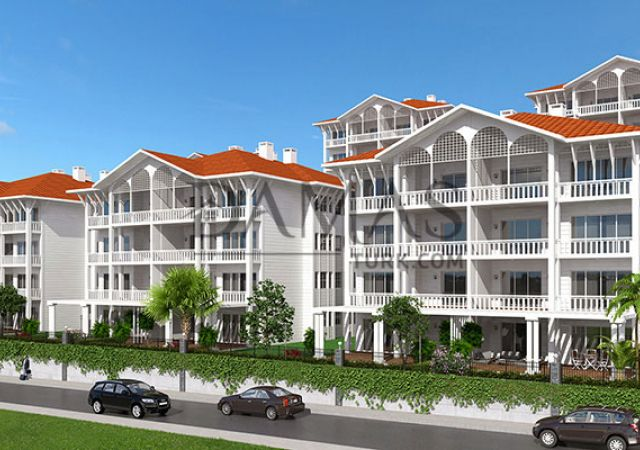 apartments for sale bursa - Damas 202 Project in bursa - exterior picture 01