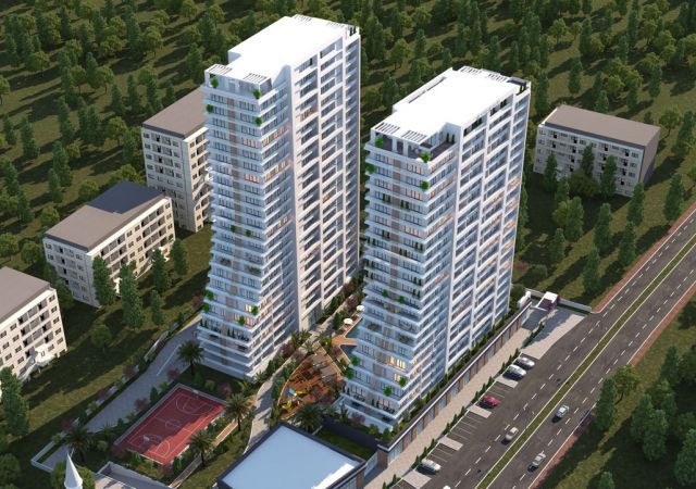 Apartments for sale in Turkey - Istanbul - the complex DS343    damasturk Real Estate Company 01