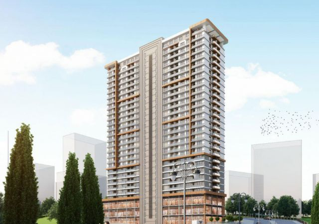 Apartments for sale in Turkey - the complex DS332 || damasturk Real Estate Company 01