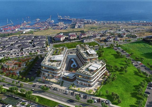 Apartments for sale in Turkey - Istanbul - the complex DS352 || damasturk Real Estate Company 01