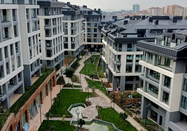 Apartments for sale in Turkey - Istanbul - the complex DS342 || damasturk Real Estate Company 01