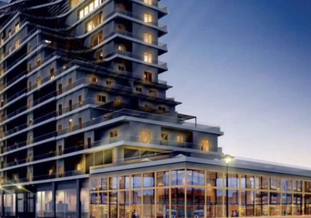 Apartments for sale in Turkey - the complex DS331    damasturk Real Estate Company 01