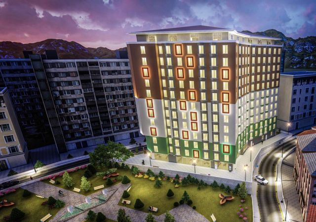 Apartments for sale in Turkey - Istanbul - the complex DS339 || damasturk Real Estate Company 01