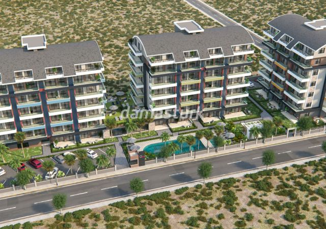 Apartments for sale in Antalya Turkey - complex DN045 || damasturk Real Estate Company 01