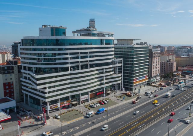 investment Complex offices ready To Move  in Istanbul European, Beylikdüzü area DS289 || damas.net 01