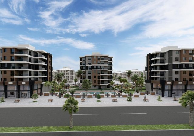 Apartments for sale in Antalya Turkey - complex DN022 || damasturk Real Estate Company 01
