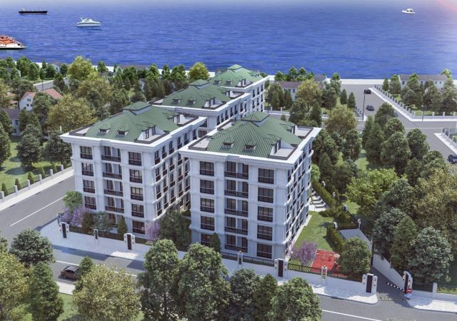 Apartments for sale in Turkey - the complex DS329 || damasturk Real Estate Company 01