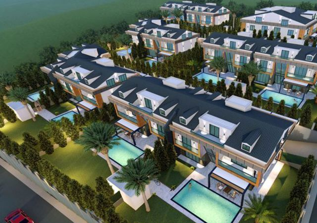 Villas for sale in Turkey - the complex DS328 || damasturk Real Estate Company 01