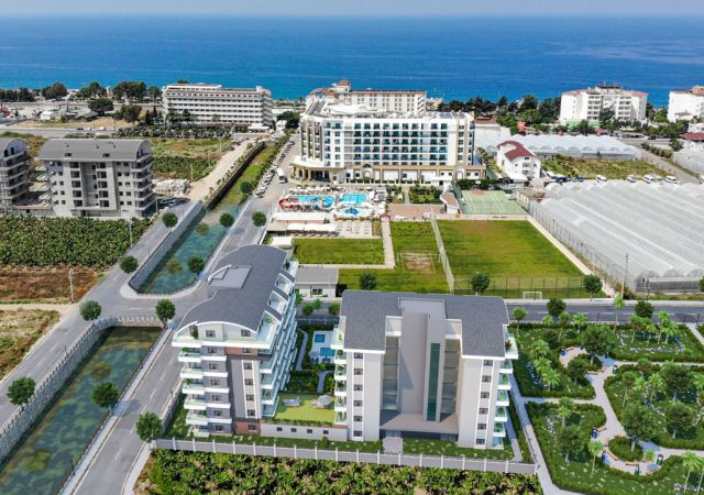 Apartments for sale in Antalya - Turkey - Complex DN057 || damasturk Real Estate Company 01
