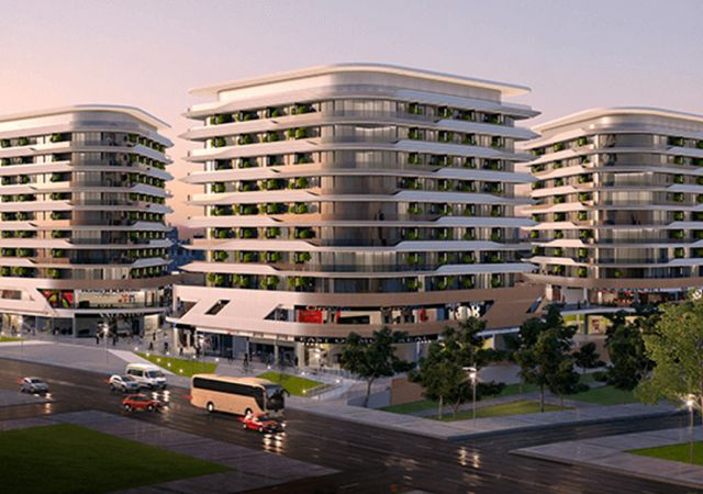Investment complex ready for housing and installment in the European area, Istanbul zeytinburnu region DS282 || damas.net 01