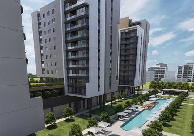Smart Apartments for Sale in Antalya Turkey - Complex DN021 || damasturk Real Estate Company 01