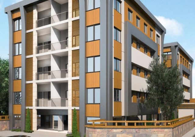 Ready Investment complex including shops and apartments in istanbul buyukcekmece DS274 || damas.net 01