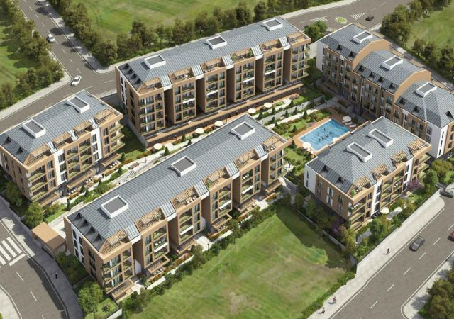 Apartments for sale in Turkey - Istanbul - the complex DS362  || damasturk Real Estate Company 01