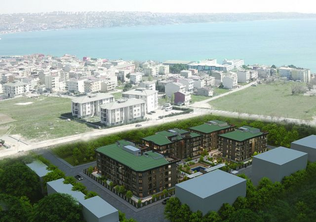 Apartments for sale in Turkey - Istanbul - the complex DS344 || damasturk Real Estate Company 01
