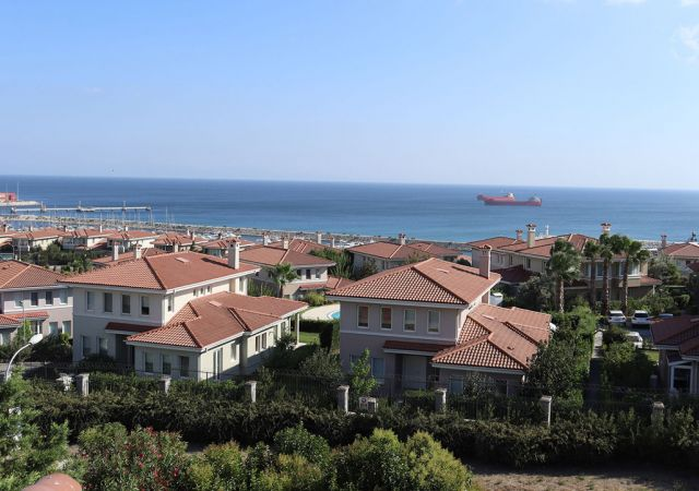 Villas for sale in Turkey - complex DS318 || damasturk Real Estate Company 01
