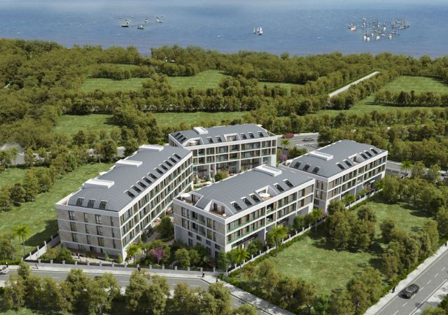 Apartments for sale in Turkey - Istanbul - the complex DS346 || damasturk Real Estate Company 01