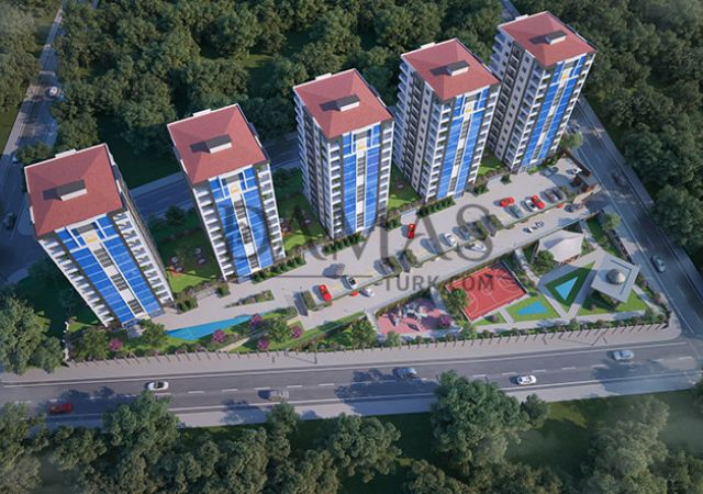 Trabzon turkey real estate - Damas 403 Project in Trabzon - exterior picture
