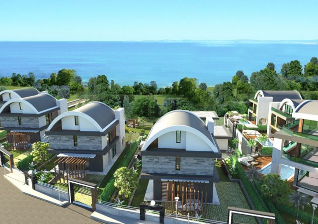 Apartments for sale in Antalya Turkey - complex DN050 || damasturk Real Estate Company 01