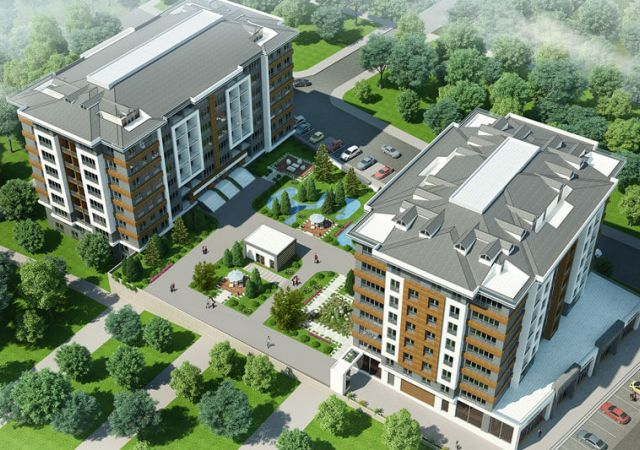 under construction to move residential complex in Avcilar Istanbul region D-098 || damas.net 01