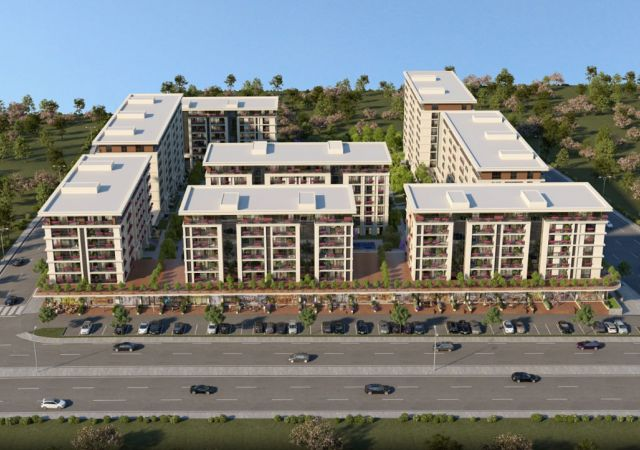 Apartments for sale in Turkey - the complex DS335 || damasturk Real Estate Company 01