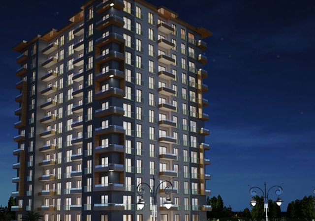 Ready to move residential complex in mahmutbey Istanbul region DS276 || damas.net 01