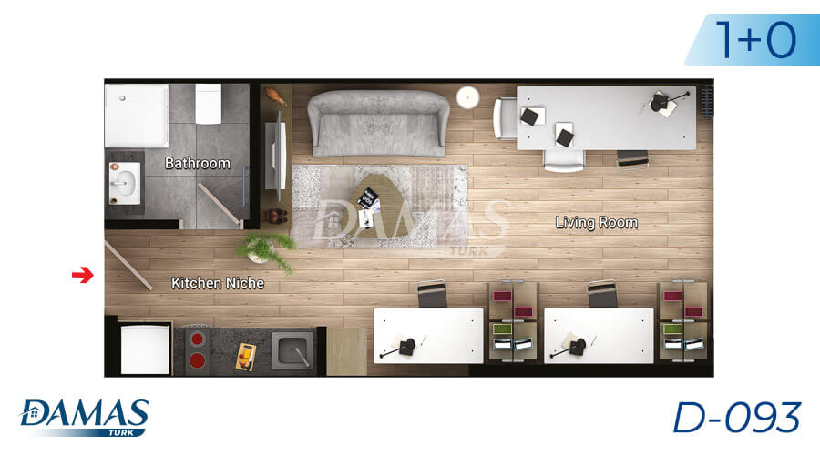 Damas Project D-093 in Istanbul - Floor Plan picture 01