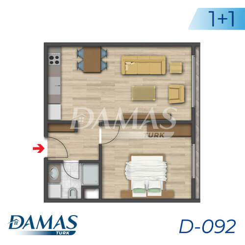 Damas Project D-092 in Istanbul - Floor Plan picture 01