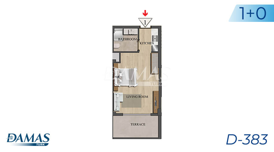 Damas Project D-383 in Istanbul - Floor Plan picture 01