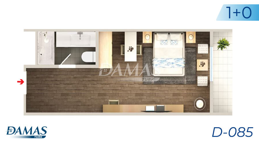 Damas Project D-085 in Istanbul - Floor Plan picture 01