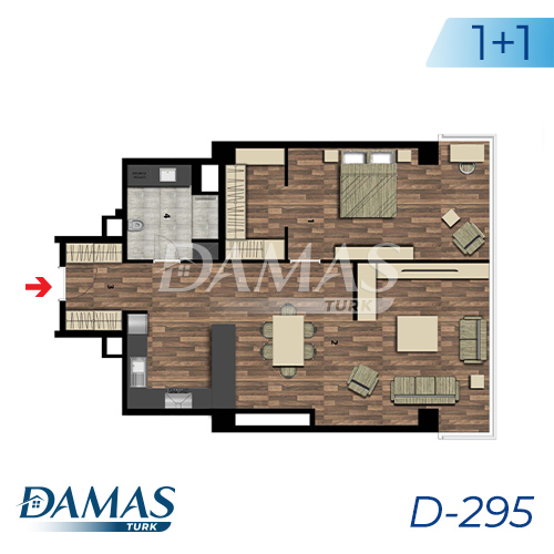Damas Project D-295 in Istanbul - Floor Plan picture 01