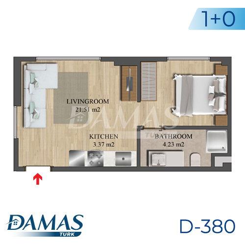 Damas Project D-836 in Istanbul - Floor Plan picture 01