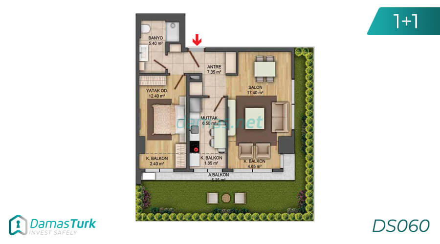 Istanbul Property - Turkey Real Estate - DS060 || damas.net 02