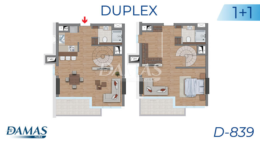 Damas Project D-839 in Istanbul - Floor Plan picture 03