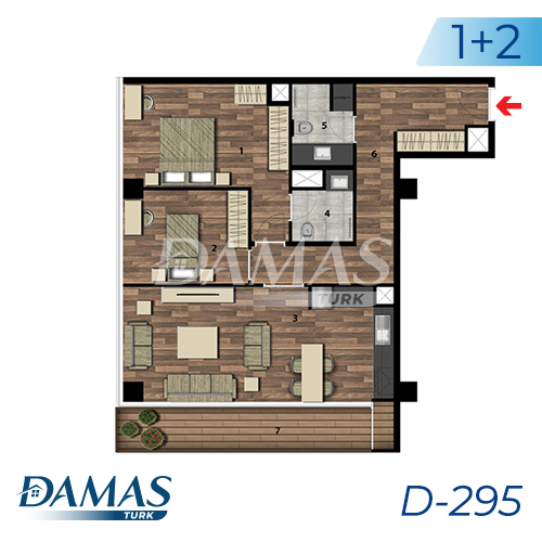 Damas Project D-295 in Istanbul - Floor Plan picture 03
