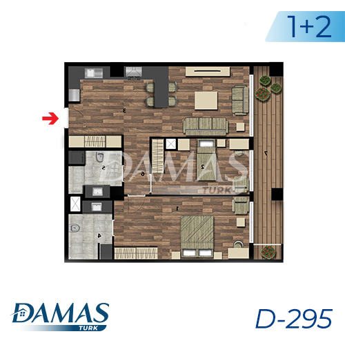 Damas Project D-295 in Istanbul - Floor Plan picture 04