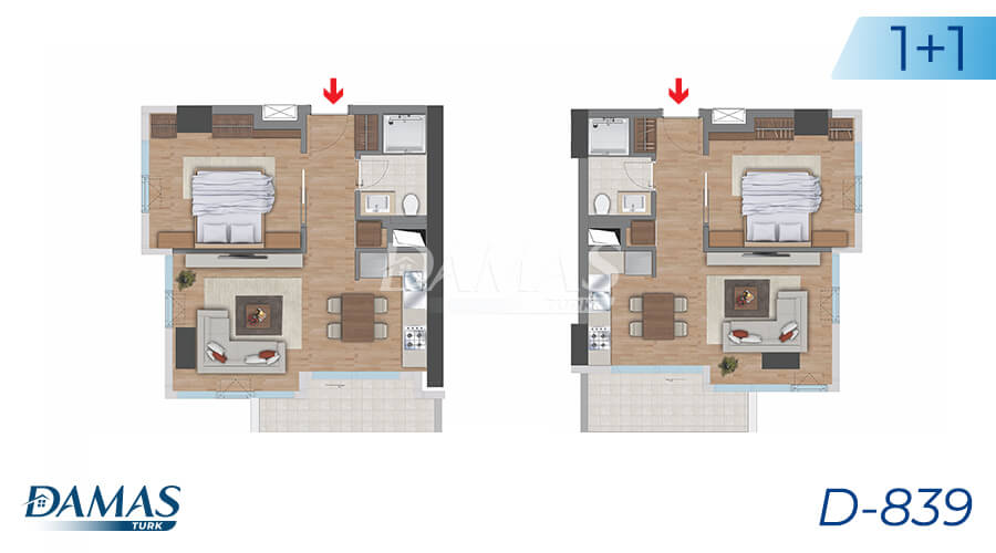 Damas Project D-839 in Istanbul - Floor Plan picture 06