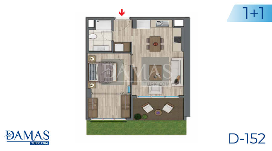 Damas Project D-152 in Istanbul - Floor plan picture 01