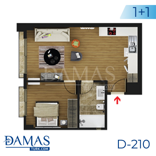Damas Project D-219 in Istanbul - Floor plan picture  01