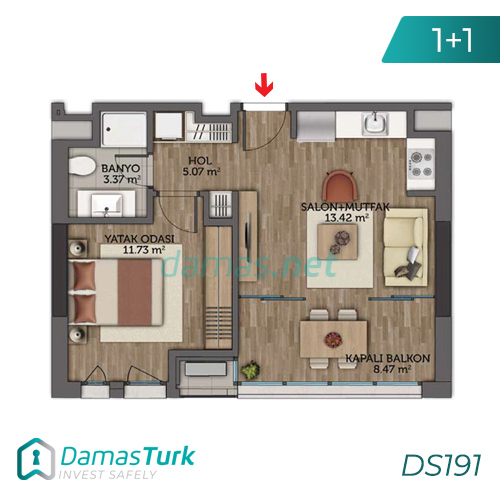 Istanbul Property - Turkey Real Estate - DS191 || damas.net 02