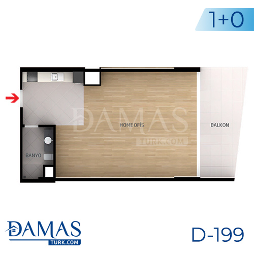 Damas Project D-199 in Istanbul - Floor plan picture  01