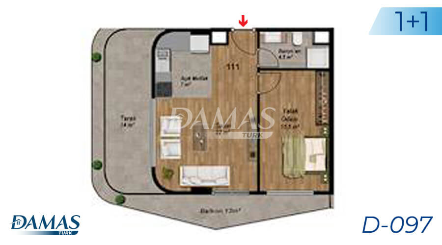 Damas Project D-097 in Istanbul - Floor Plan picture  01
