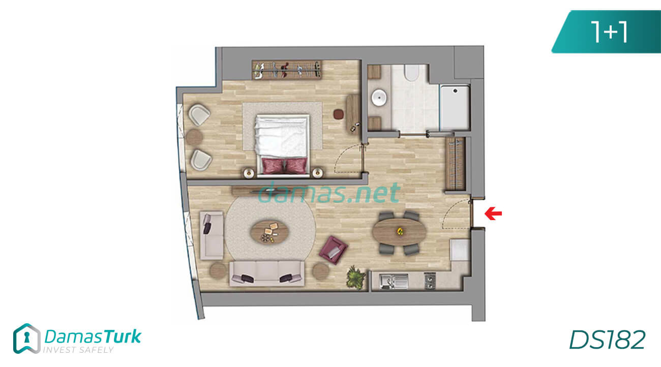 Istanbul Property - Turkey Real Estate - DS182 || damas.net 01