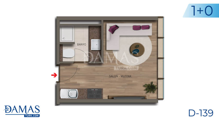 Damas Project D-138 in Istanbul - Floor plan picture 01